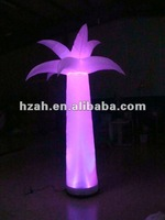 Lighting Inflatable Flower Column Decorations