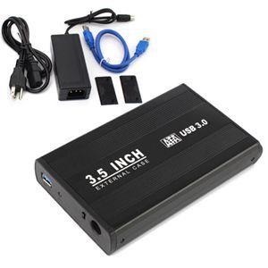 """Cheap Computer Enclosure USB 3.0 Sata enclosures 3.5"""" inch HDD Hard Drive Disk External Case Box For PC Laptop(China (Mainland))"""