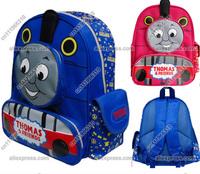 Baby Kid Toddler Child Infant Nursery Boy Girl Thomas Friends Tank Train Cartoon Canvas Backpack Shoulder School Bag Rucksack
