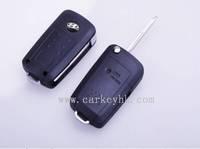 Best quality Hyundai Accent flip modified key shell and hyundai santa fe fob