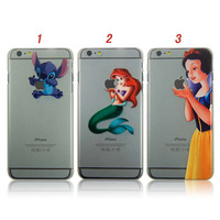 2014 new arrival cute snow white The little mermaid stitch plastic phone case for iphone 6 plus 5.5 inch custom case cover