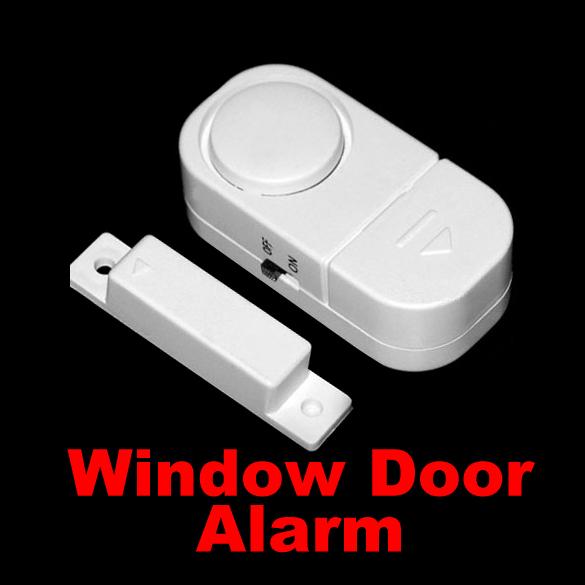 Wireless Door Window Entry Burglar Alarm Safety Security Guardian Protector Magnetic Sensor Door Window Immobilizer SWE#(China (Mainland))