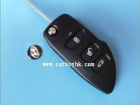 Best quality Hyundai Royal Raymond 3 button keys modified remote key shell and hyundai accent