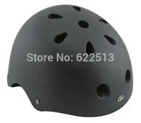 Free shipping!Toker professional BMX extreme Sports mountain  bicycle/bike helmet,scooters&kating&hip-hop helmet.Metallic black
