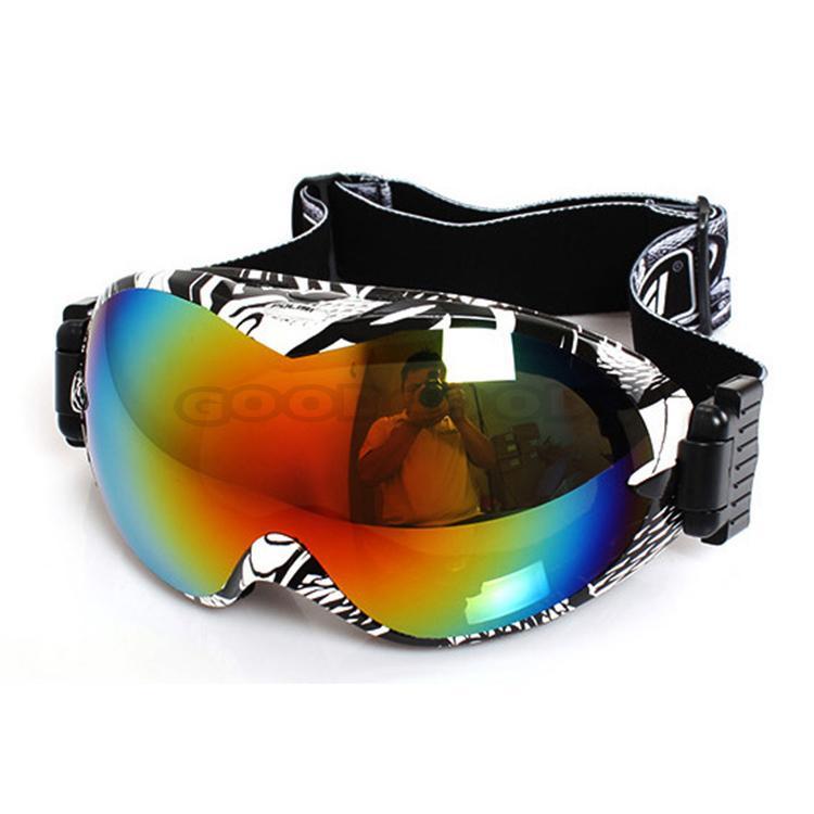New 2016 POLISI Winter Motorcycle Sport Protective Glasses Ski Snowmobile Goggles Anti-Fog Dual  ...