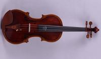 101# 4 string 4/4 Violin Ebony parts Flame Maple Back Antique Varnish Spruce Master Work