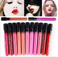 Popular Women's lipgloss Waterproof Beauty Makeup LipStick Velvet matte Colors Lip Pencil Lipstick Lip Gloss Lip 11 Colors