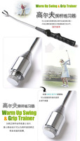 Golf Swing Training Griff  Warm up Trianing Aid Practice Club Indoor Weight Warm up Aid Golf Training Aids Grip Trainer