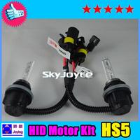 DHL shipping 35w hid motor kit HS5 6000K for HONDA PCX [2 bulb +2 ballast] HID XENON motorcycle kit motorbike headlight HS5