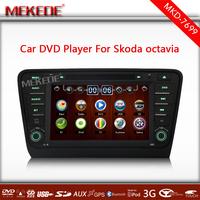 Hot selling New menu SKODA Octavia 2014 Car PC Car DVD Player Radio stereo with GPS 3G wifi IPOD ATV +Free Map card
