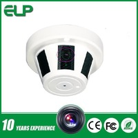 1MP 720P mini pinhole lens mini smoke detector ip camera for home security ELP-IP3100HB