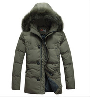 2014 New Tops Brand Men Winter Jacket Cotton Padded Down jacket Hooded Coat Thick Sport Coats Male Warm Parkas Slim Fit