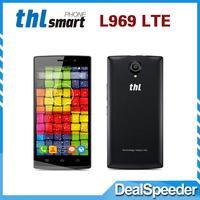 New Original THL L969 4G FDD LTE Smartphone MTK6582 Quad Core 5 inch 1GB 8GB Android 4.4 5.0MP Camera WCDMA Free Shipping