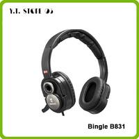 Bingle B831 Double Power Technology Surround Stereo Headset HIFI Gaming Headphone Music Earphone Free Shipping
