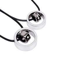Lovers pendant necklace jewelry lovers of interlocking JE wholesale price