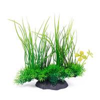 New Decorative Green Artificial Aquarium Fish Tank Plastic Plant Grass Ornament Decoration#62629