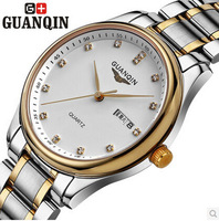Original GUANQIN watches women fashion luxury sapphire Waterproof full steel wristwatches Lady Self-wind watch