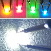 5 цветов x20pcs = 100 шт. SMD 0805 из светодиодов супер яркий красный / зеленый / синий / желтый / белый прозрачный из светодиодов свет диод бесплатная доставка