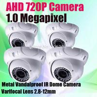 New HD-AHD Analog Camera 36 IR Leds 30m Distance Varifocal Lens Metal Dome HD AHD 720P 1.0MP CCTV Camera