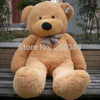 TEDDY BEAR 5.2 FEET size:160cm STUFFED GIANT JUMBO Embrace Bear Doll 4 colors lovers/christmas gifts birthday gift