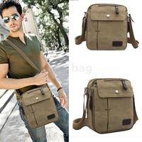 Vintage Canvas Handbags Multifunction Shoulder Messenger Bags For Male Crossbody Satchel Men's Travel Bags