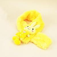 Free shipping Lovely  rabbit plush scarf / warm plush scarf
