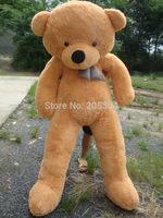 "White TOYS 6 FEET BIG TEDDY BEAR STUFFED 4 Colors GIANT JUMBO 72"" size:180cm Embrace Bear Doll lovers/christmas/ birthday gift"