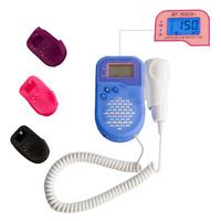 BESTMAN SH-500D+ LCD Ultrasound Pocket Fetal Doppler Portable Prenatal Monitor Baby Fetal Heart Rate Detector with protect case
