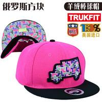 American hip-hop street signs TRUKFIT truck cap Tetris Ms. genuine cashmere hat baseball cap