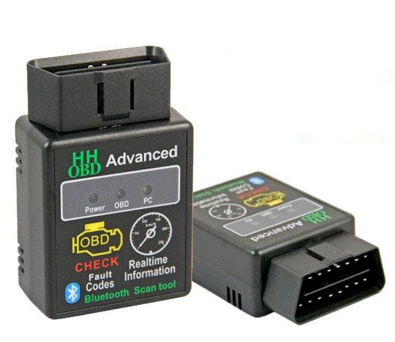 Bluetooth HH OBD MINI ELM327 OBDII OBD2 Car Diagnostic tool CAN BUS Check Engine Interface Scanner Adapter ECU Code Reader T5509(China (Mainland))