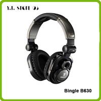 Bingle B630 Wireless 2.4G dual power patented technology headset perfect level of sound quality headphone