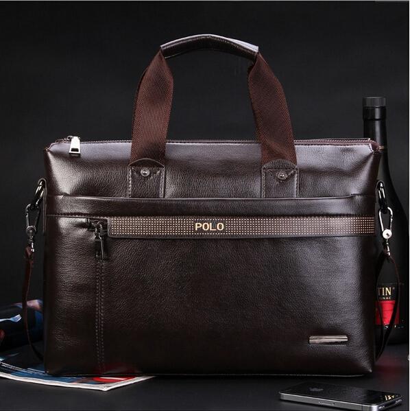 New Fashion Men's Briefcase Genuine Business Shoulder Bags Quality Stylish Brand Handbags Brand Tote Bag for Man XB114(China (Mainland))