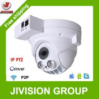 ONVIF WIFI IP PTZ Camera 720P 1.0 Megapixel Infrared mini Speed Dome P2P Cloud 4X optical Zoom Pan Tilt Dome PTZ Camera Wireless