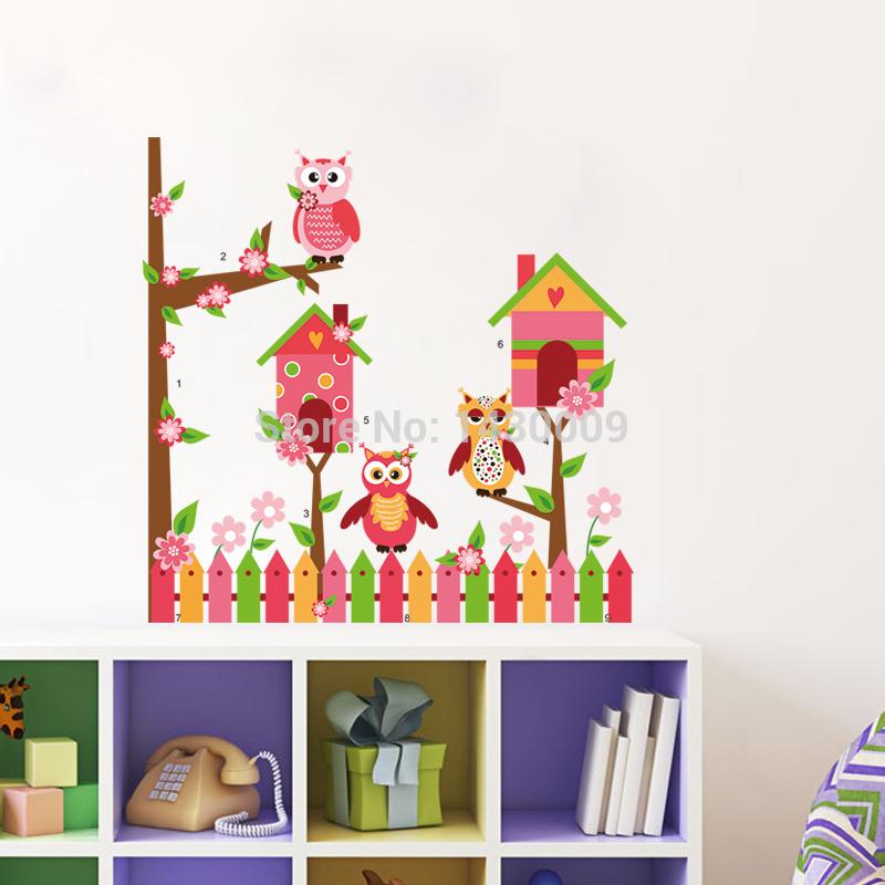 ... wall-decal-kids-room-wall-sticker-3d-self-adhesive-wallpaper-wall-art