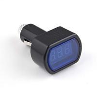 DC 12V-24V LED Display Cigarette Lighter Electric Voltage Meter tester For Auto Car Battery