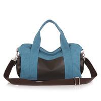 2014 fashion leisure male canvas bag shoulder bag leisure carteira feminina business  1030-4