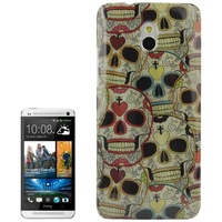 High Quality Personality Skull Pattern Plastic Case for HTC One mini / M4