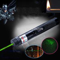 Hot! green laser pointer 10000mw high power lazer burning lasers 303 presenter laserpointer with babysbreath light +safe key