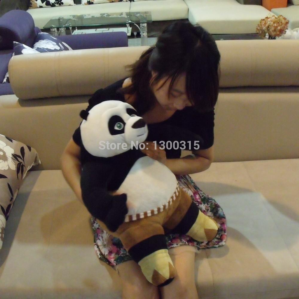 Free shipping 40cm Kung Fu panda plush stuffed toys baby dolls cartoon animal toys child birthday gift(China (Mainland))