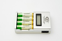 New Cheaper BTY 4*3000mah 1.2V Rechargeable Battery AA + BTY N-903 AAA/AA Battery charger Free Shipping