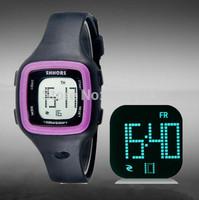 SHORS Unisex 30M Waterproof LED Digital Watch Women Dress Watches  Men Sports Quartz Watches Military Watch
