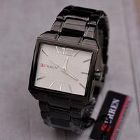 Classic Square Case Men Dress Watches Quartz Simple Designer Business Style Analog Wristwatch 100% 316L Band Relojes 1ATM NW1703