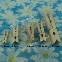 100 Wood Clothspin Clip Pin Photo Memo Hanging Clip  DIY Craft Scrapbooking Favor 25mm 35mm 36mm 45mm 73mm