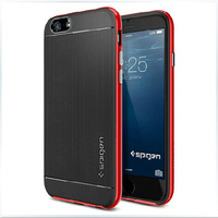 """SPIGNE SGP Soft Back Cover Silicone Plastic Spigen Neo Hybrid Case for iPhone 6 4.7"""" Phone Bag Bumblebee Cover for iPhone Air"""