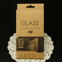 500pcs retail packaging box/paper box/packing for galaxy s5 s4 iphone5s 6 6 Plus Tempered Glass Screen Protector Film,free DHL