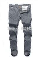 New Arrivals 2014 Original Pants Men Cotton Gray Casual Pants Men's Pants Big Size Trousers Designer Pants Free Shipping