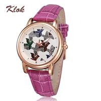 Wholesale women ladies watch 2014 quartz movement analog genuine leather watches luminous hands waterproof watches