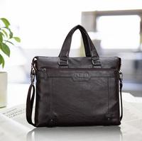 2014 Free Shipping Men's PU Leather Business Handbag Briefcase Casual POLO Shoulder Bag Messenger Bag Laptop Bag BG203