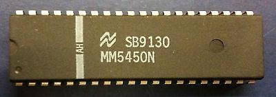 10pcs National Semiconductors MM5450N LED Display Driver DIP40 MM5450(China (Mainland))