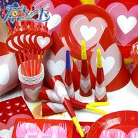 Children Love To Garden Suite Theme Party Supplies Birthday Party Supplies Wedding Festival Theme Decorations 60pcs/Lot